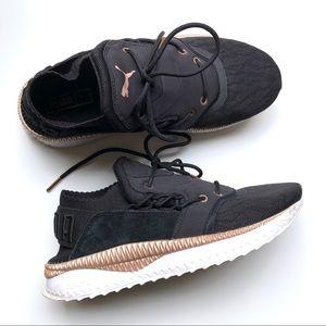 Puma Tsugi Ignite Black-Rose Gold Sneakers